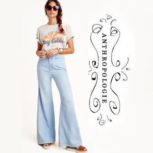 Pilcro High Rise Flare Jeans